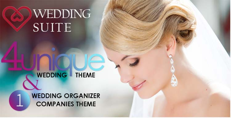 WordPress Wedding Themes Wedding Suite