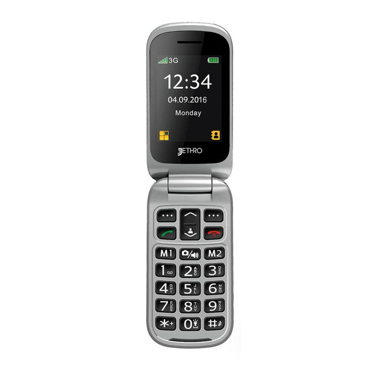 Jethro SC330 3G Best Cell Phones for Senior Citizens