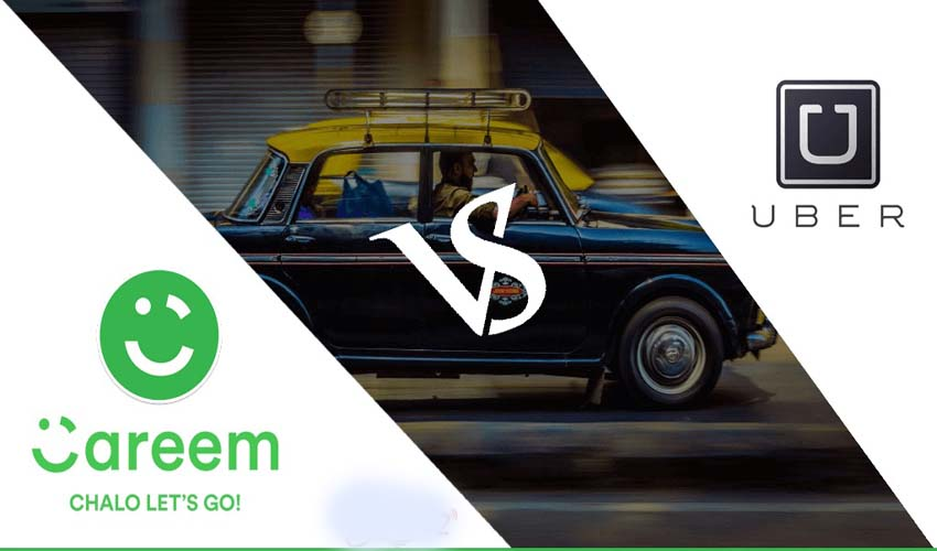 Uber VS Careem Cab a Look From Both Side And Choose The Best One