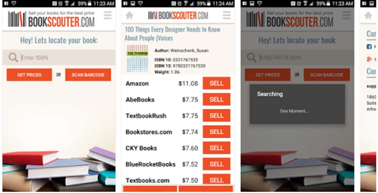 BookScouter Apps for Making Money