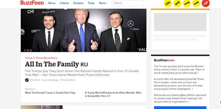 BuzzFeed Most Popular Blogs